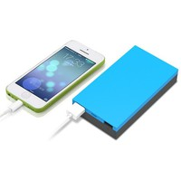 iPhone 6s Portable Charger, Fashion Simple Style Smooth Texture Ultra Compact External Battery Pack Power Bank for Apple iPhone 6s Plus,5 5s 5c iPads iPods Samsung LG Motorola SmartPhonnes,Tablets, Camera Power charger and Other Device (Blue)