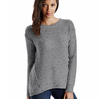 Kensie Flecked Sweater