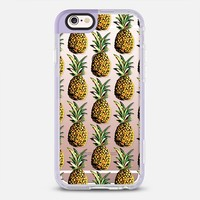 Tropical Pineapple Pattern Transparent  iPhone 6s case by Organic Saturation | Casetify
