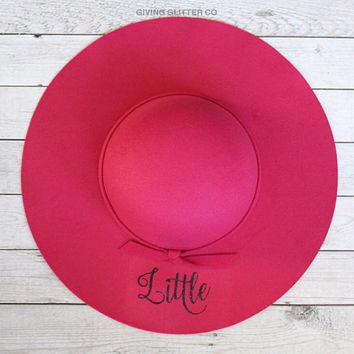Little - Sorority Sisters // Floppy Hat - Sorority Sister Gift - Little Gift