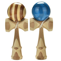 Professional Bamboo Kendama Toy Bamboo Kendama Skillful Juggling Ball Toy For Children Adult Colors Random Christmas Toy