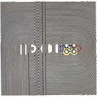 1968 OLYMPICS | Mexico | Vintage Retro Promotional Advertisement Marketing Poster | Master Print