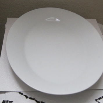 Vintage Serving Ware/Noritake/ SNOWVILLE Pattern/Oval/White/Collectible/Replacement Piece/New Lower Price/Thanksgiving Platter