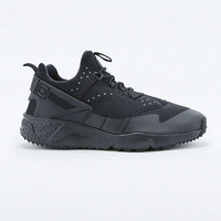 Nike Air Huarache Utility Black Trainers - Urban Outfitters