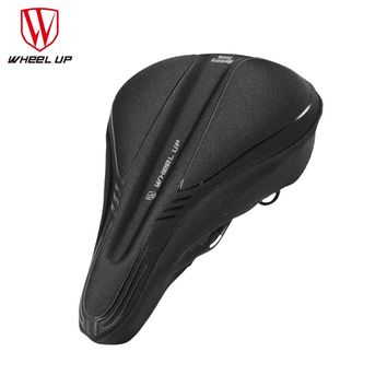 WHEEL UP Bicycle Silicone Saddle Cover Breathable MTB Mountain Road Bike Seat Cushion Covers Mat Silica gel Pads Cycling Parts