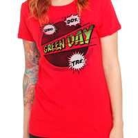 Green Day Comic Girls T-Shirt | Hot Topic