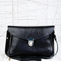 Vagabond Mini Leather Satchel in Black - Urban Outfitters