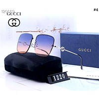 GUCCI 2019 new high-definition men and women driving polarized color film sunglasses #4