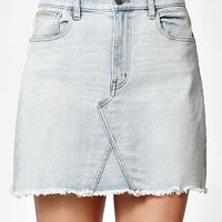 Calvin Klein A-Line Denim Mini Skirt at PacSun.com