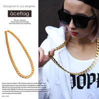 Gift Jewelry Shiny New Arrival Hip-hop Stylish Chain Necklace [10529029635]