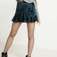 large scale full fishnet tights