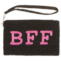 Beaded BFF Clutch