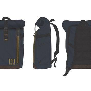 MPBP Fallout VaultTec Backpack  Fallout Navy Backpack for Gamers