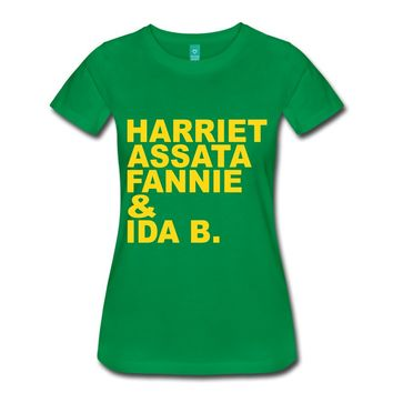 Harriet to Ida B. T-Shirt | Spreadshirt
