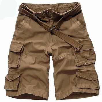 New style Summer cotton cargo combat shorts