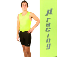 Men's Hi-Viz with Black Two-Tone Unisuit : Race in JL