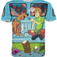 Scooby and Shaggy Van Hideout T-Shirt