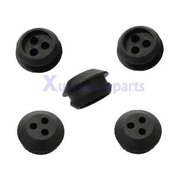 (5 PACK) 3 Hole Fuel Gas Tank Grommet Replace ECHO V137000030 13211546730 New