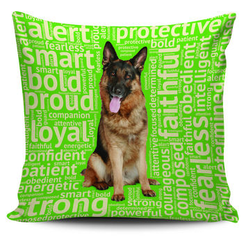 German Shepherd Pillowcase Set