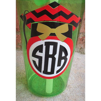Monogram Graduation Tumbler Cup, Personalized Graduation Gift, High School Graduation Gift, College Graduation Gift