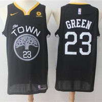 NBA Basketball Swingman Jerseys Golden State Warriors # 23 Draymond Green Black