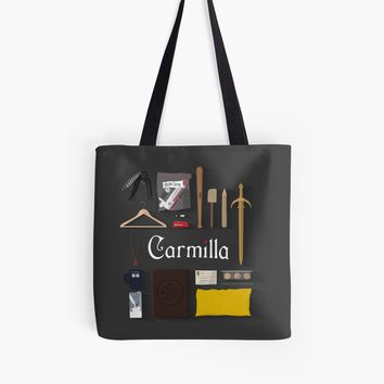 'Carmilla Items' Tote Bag by CLMdesign