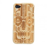 Totem Bamboo Hard Case Cover For Ip.. on Luulla
