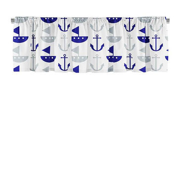 Boat and Anchor Valance