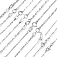 Sterling Silver Adjustable Necklace Chain