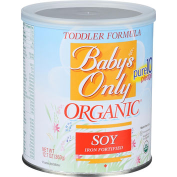 Baby's Only Organic Toddler Formula - Soy - 12.7 oz