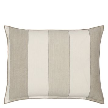 Designers Guild Brera Gessato Natural Decorative Pillow