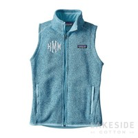 Better Sweater® Fleece Vest in Cuban Blue | Lakeside Cotton