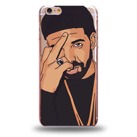 Drizzy Drake Middle Finger iPhone Case