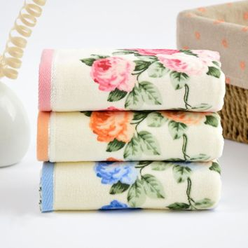 Luxury Hotel Spa Collection Bath Wash Cloths 100% Cotton Hand Hairs Towels New Y8