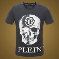 2018 Men  Cheap  Philipp Plein  T Shirt hot sale ♂010