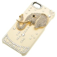 Elephant Crystal Hard Case For iPhone 5