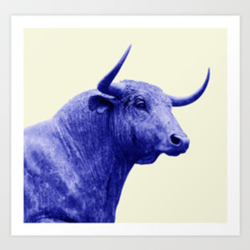 Blue Animals Collection By Kobashichop | Society6