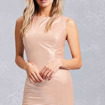 Glossy Bodycon Dress