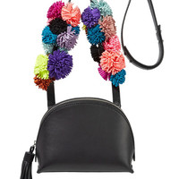 Loeffler Randall - Suede-trimmed leather shoulder bag