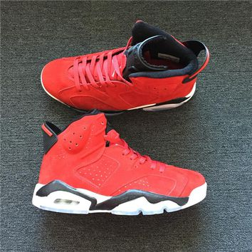 Air Jordan 6 Retro Suede Basketball Shoes US7-12