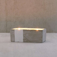 Rectangular Concrete Candle | Urban Outfitters