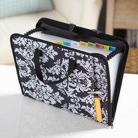 Portable Expandable File Paper Important Document Bill Organizers Zipper Holder