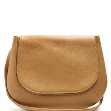 Fan 12 leather shoulder bag | The Row | MATCHESFASHION.COM US