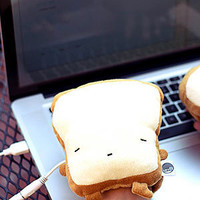 ThinkGeek :: USB Toast Handwarmers