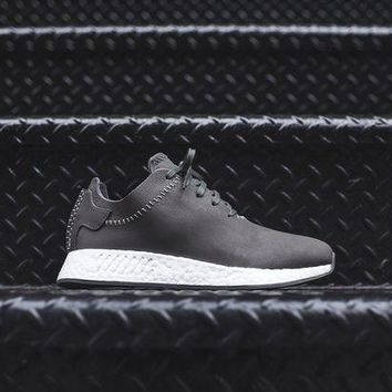 Adidas By Wings + Horns Nmd_r2 - Black / White - Beauty Ticks