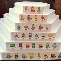 6 Tier Display for Shopkins Collection Holds all seasons on one stand