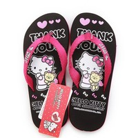 Hello Kitty Cartoon New Women Flip Flops Lovely House Sandals Woman Shoes Hello Kitty