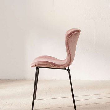 Rosa Velvet Dining Chair | Urban Outfitters