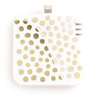 ban.do back me up mobile charger gold dots