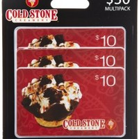 Cold Stone Creamery Gift Cards, Multipack of 3 - $10